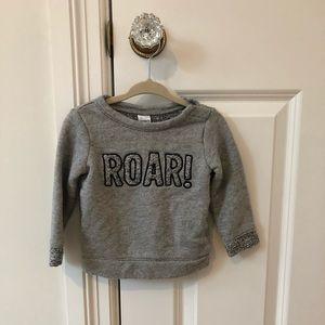 Carter's sweatshirt 12m